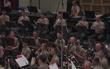 Marine Band Celebrates Anniversary with John Williams