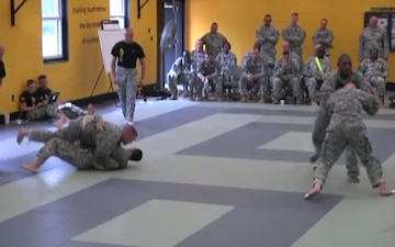 Combatives Tournament - 174th Infantry Brigade Best Officer Competition 2013