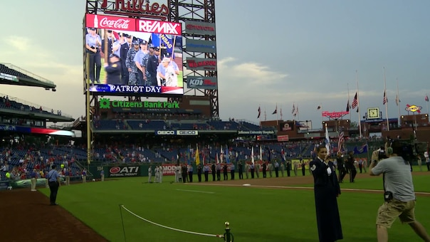 DVIDS - Video - Phillies Patriot Day Performance 2013