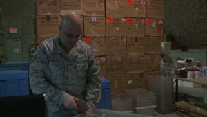 Air Force Report: Shipping Blood, Saving Lives