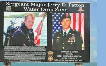 Opening of the Henderson Drop Zone at the Special Forces Underwater Operations School