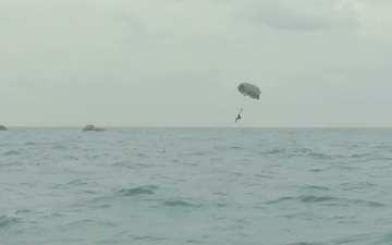 B-Roll for Opening of the Henderson Drop Zone at the Special Forces Underwater Operations School