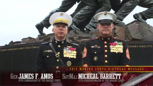 2013 Marine Corps Birthday Message: Enduring Fortitude, Unfailing Valor