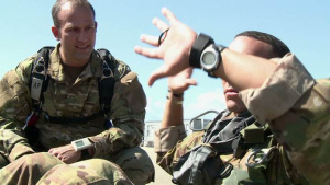 Wounded Warrior Makes Final Jump