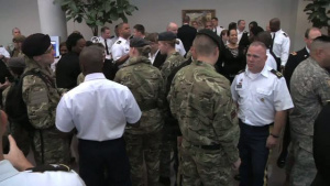 British Wounded Warriors Visit National Guard