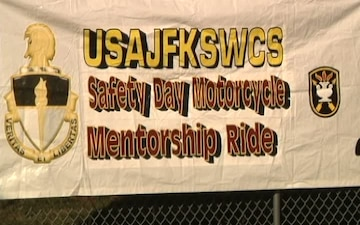 USAJFKSWCS Motorcycle Safety and Mentorship Ride, B-roll