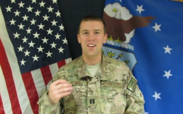 Capt. Ryan Peake Holiday Shout Out