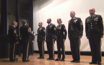 Soldiers Representing MDW Units Inducted into Sgt. Audie Murphy Club