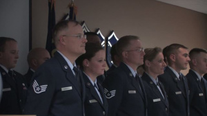 NCO/Senior NCO Induction Ceremony at the 120th Fighter Wing