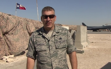 CMSgt Anthony Bickerdike-Holiday Shout-out
