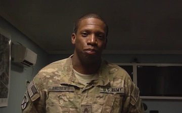 Staff Sgt. Tywann Andrews