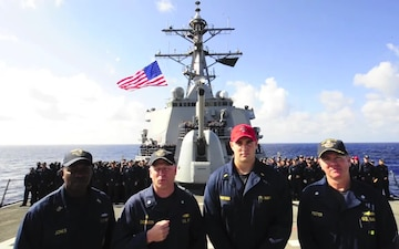 USS Barry DDG 52 Army Navy Spot