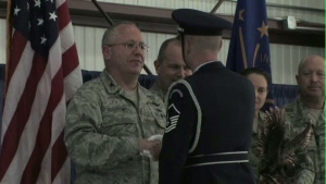 CMSGT James Hotaling Visits the 122nd Fighter Wing
