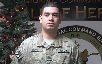 Staff Sgt. ADRIAN LOPEZ