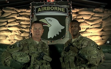 CJTF-101 Command Holiday Video