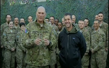 Gen Ray Odierno & John Harbaugh - Fox and Friends