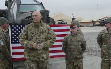 Army Chief of Staff Says Thanks To Reenlisting NCOs