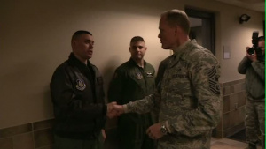CMSAF Cody Visits the 911th Airlift Wing
