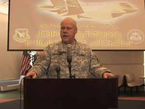 122nd Fighter Wing F-16 press conference