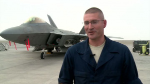 Air Force Report: Challenges of a Deployed F-22 Crew Chief