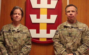 130th Command Team message for 8th TSC Ball