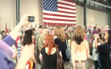 1st Combat Aviation Brigade Advon Redeploys from Afghanistan