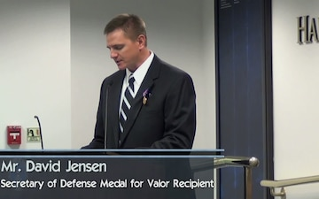 SECDEF Medal for Valor Awarded to Contractor for Actions in Afghanistan