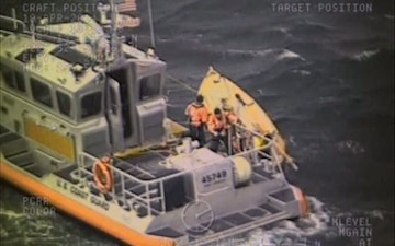Coast Guard Station Port Angeles Crew Rescues Sailor Near Port Townsend, Wash.