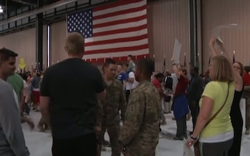 Main Body 2 Returns Home from Afghanistan