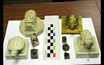 HSI Returns Ancient Artifacts to South Korea