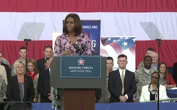 First and Second Lady visit Fort Campbell
