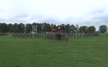 4th BCT, 101st ABN DIV Inactivation Ceremony