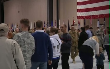 CAB Colors Return Home from Afghanistan
