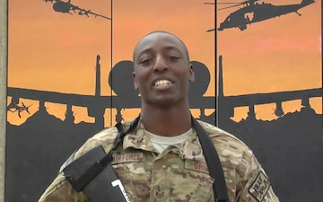 Air Force Staff Sgt. Marcus Grimes Mother's Day message