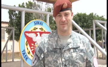 SSG Miles Seekford gives shout out to his wife and mother
