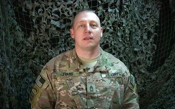 Master Sgt. Mike Evans