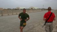 Service members run Marine Corps Historic Half Marathon in Afghanistan