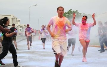 Camp Foster Color Run B-roll