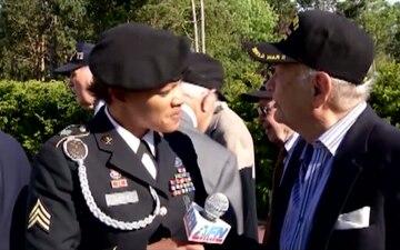 Veterans Speak after World Leaders at Normandy