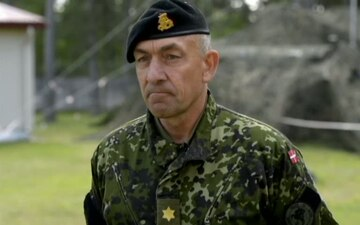 Danish Maj Gen Michael Lollesgaard