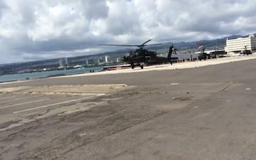 Apache first Flight in Hawaii