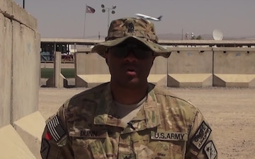 Sgt. Maj. Walter Dunn Independence Day Shout Outs
