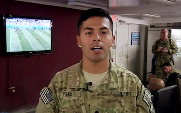 SPC Karl Pena - 2014 World Cup - U.S. Soccer Team Greeting