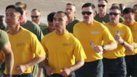 Service Members Celebrate Hospital Corps' Birthday in Afghanistan