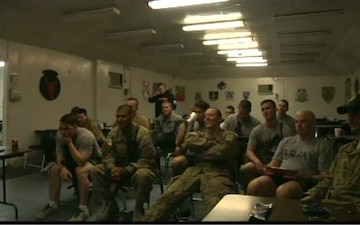 U.S. Troops in Afghanistan Host World Cup Watch Party