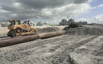 Rockaway Beach Restoration Project from Beach 60th to 149th Street