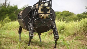 Marines Field Test the Robot LS3 during RIMPAC 2014