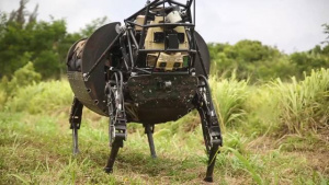 Marines Field Test the Robot LS3 during RIMPAC 2014 w/o graphics