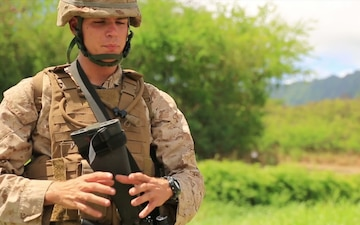 Cpl. Colby Wallace, Small Unit Water Purification (SUWP)
