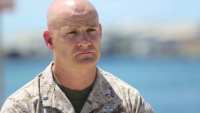 Lt. Col. Charles Berry, Marine Corps Warfighting Lab explains the AWE in Hawaii